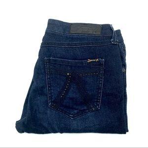 Seven 7 Legging Skinny Jeans, Size 6, EUC